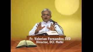 Word of God By Rev.Fr.Valerian Fernandes,SVD at Divine Call Centre,Mulki