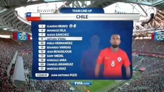 Germany vs chili 1-0. All goal highligts finale coup des confédération