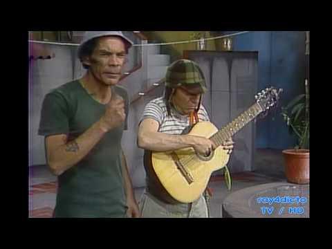 EL CHAVO DEL 8 Clases de Guitarra 1975 HD
