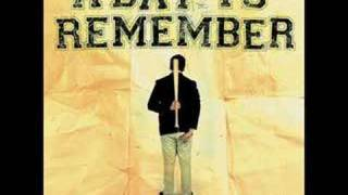 A Day To Remember - Fast Forward To 2012