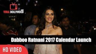 Kriti Sanon At Dabboo Ratnani's 2017 Calendar Launch | Viralbollywood
