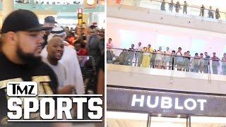 Floyd Mayweather, Crazy Mall Footage From $1 Million Shopping Spree | TMZ Sports