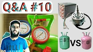 R22 vs R410a best gas,gas charge without on ac,compressor oil Q&A #10    Fully4World