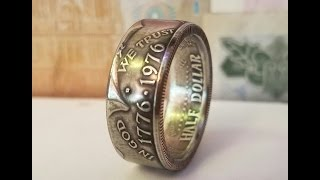 Great coin ring making tool setup and instructions for beginners