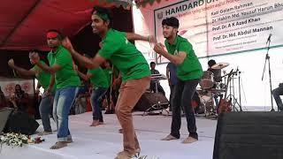 Hridoye amar bangladesh - flash mob song by Medical students of Hamdard University  Bangladesh.