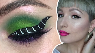 Maleficent Eyeliner Makeup Tutorial with Vlada Haggerty | Disney Style LIVE