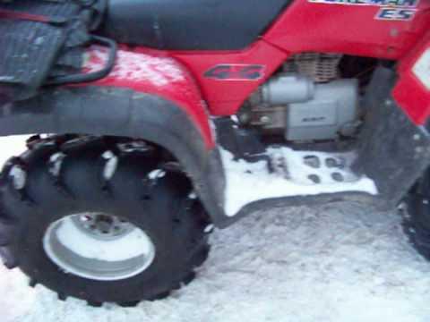 28 inch mudlites on a honda foreman 450 es