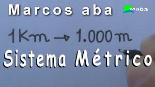 UNIDADES DE MEDIDAS - Sistema métrico Decimal - metro - milímetro - quilômetro - decímetro e etc.