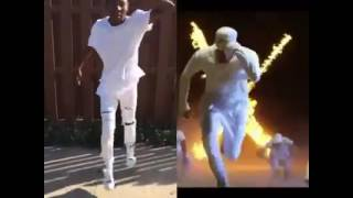 New flame dance