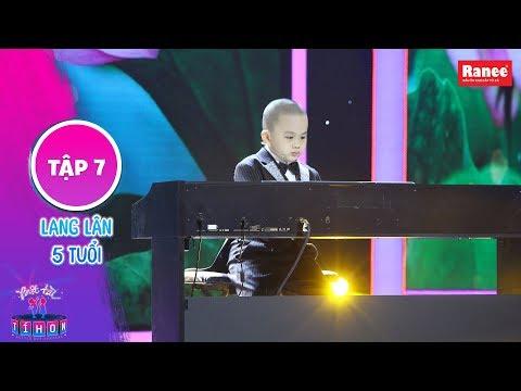 Biệt Tài Tí Hon 2 Tập 7 Trịnh Thăng Bình Trấn Thành ngả mũ thán phục thần đồng Piano 5 tuổi