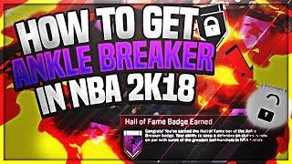 BEST METHOD FOR ANKLE BREAKER IN NBA 2K18