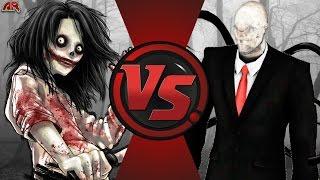 JEFF THE KILLER vs SLENDERMAN! Cartoon Fight Club Episode 149