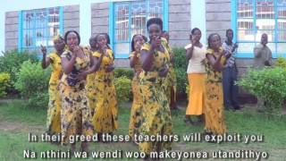 Athani ma uvungu(False prophets) By:By HisVoice Ministries Choir
