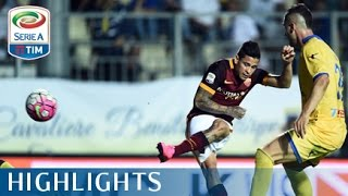 Frosinone - Roma 0-2 - Highlights - Matchday 3 - Serie A TIM 2015/16