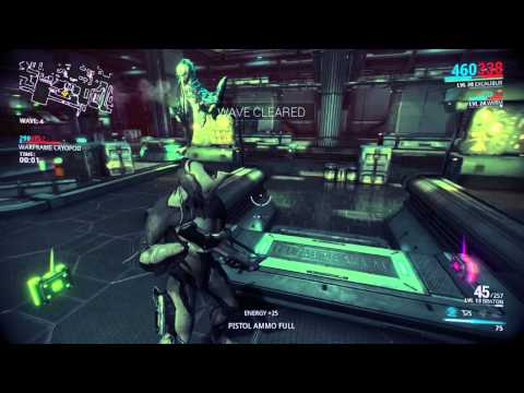 Warframe - PS4 Solo Game Play
