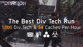 The Division   The PERFECT Div Tech Run - Get 4,000 Div Tech EASILY!