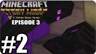 Minecraft Story Mode Episode 3 - Gameplay Walkthrough Part 2 [ HD ] - No Commentary