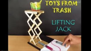 LIFTING JACK - HINDI - Beautiful Syringe Jack!