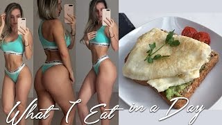 What I Eat in a Day & How to Track your Macros
