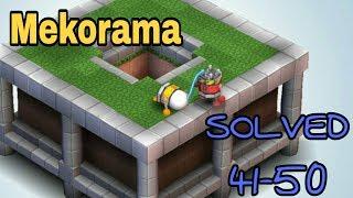 Mekorama # 41-50 Levels Solutions (Final)