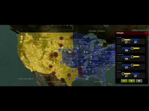 USA VS CHINA Part #2 Simulation