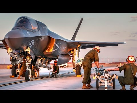 watch F-35 First Ever Hot Load
