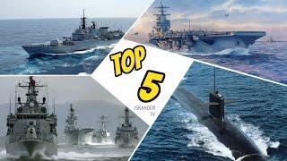 TOP 5 Mejores Armadas De Latinoamerica 2017 | ¿Mejor Fuerza Naval?