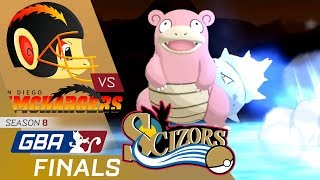 GBA S8 Finals Wi-Fi Battle vs. Philadelphia Scizors - THE CHIMPVEE FINALS!