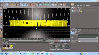 Cinema 4D Tutorial (How to make your own Intro) + Template