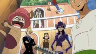 One Piece OP 03 - Hikari E (FUNimation English Dub, Sung by Vic Mignogna, Subtitled)