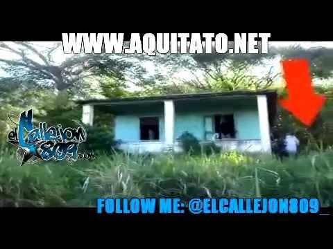 Captan supuesto fantasma en la casa del km 5 VIDEO COMPLETO