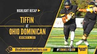 NCAA Football | Tiffin at Ohio Dominican [11/14/15]