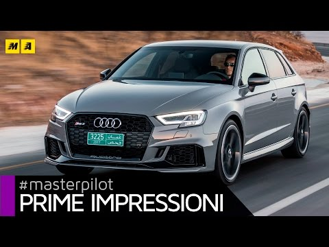 Audi RS3 2017 400 CV. You can call me equilibrio Sportback o Sedan Primo test
