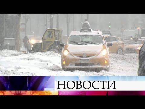 Xxx Mp4 В США из за снегопада и лютого мороза не работают аэропорты парализованы дороги закрыты школы 3gp Sex