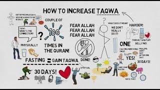 HOW TO INCREASE TAQWA - Nouman Ali Khan Animated