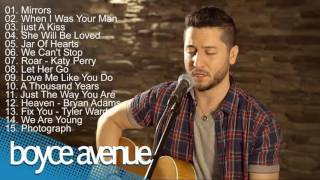 Top 15 Best Acoustic Cover Songs of Boyce Avenue 2016   TOP 15 BEST COVERS OF 2016 1