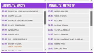 Jadwal Acara TV Hari Ini, Selasa 15 Juli 2014