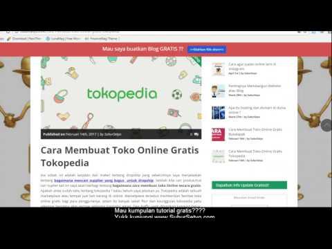 tutorial dropship di tokopedia dan Cara Melakukan Transaksi Dropship nya
