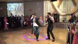 Best Mehndi Dance Skit EVER! - Amal & Imron Walima Bollywood Skit