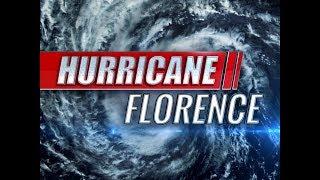 BREAKING Hurricane Florence downgraded Category 1 update September 13 2018