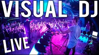 Visual DJ AFISHAL - LIVE Galantis Remix