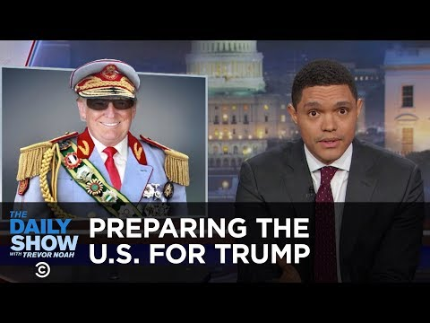 How South Africa Could Prepare the U.S. for President Trump The Daily Show