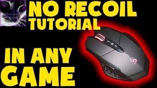 NO RECOIL TUTORIAL - A4Tech Bloody Gun3 V7 Mouse in CS:GO