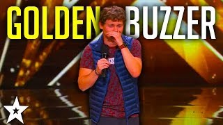 Top Comedian DREW LYNCH Gets Golden Buzzer | America