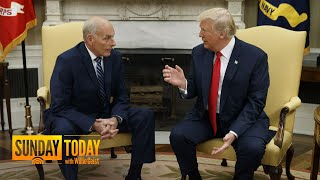John Kelly To Leave Trump White House By End Of The Year | Sunday TODAY