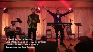 Rameen & Omar Sharif - Maida Maida beya Live performance in Malmo Sweden
