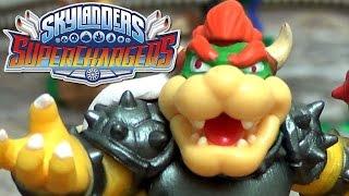 Skylanders Superchargers DONKEY KONG & BOWSER Unboxing (Starter Packs - Wii U)