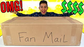 GIANT PO BOX FAN MAIL PRESENTS - Surprise Toys For Kids -  Candy Opening