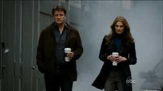 Castle 4x23 Always - Beckett  Accepts a Movie Date w/ Castle (HD/CC)