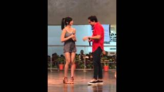 JUST THE 3 OF US Mall Show ( Jennylyn Mercado & John Lloyd Cruz )